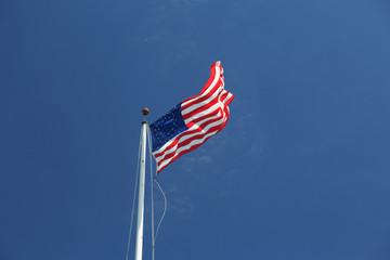 U.S. flag (35 stars) July 4, 1863