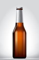 Beer blank bottle