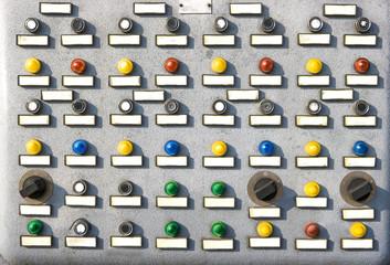 pannello comando industriale