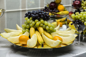 Wedding varied fruits arrangement
