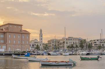 Bari  - sea and city view, Apulia, Italy