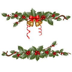 garlands of holly