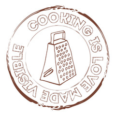 Cooking equipment stamp
