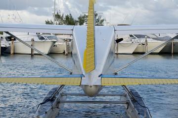 Seaplane / Back View of Seaplane