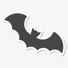 Bat icon sticker