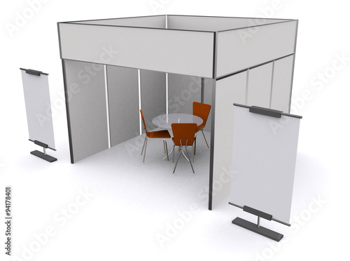 Exhibition Stand Mockup : Vector exhibition stand business expo mock up u stock vector