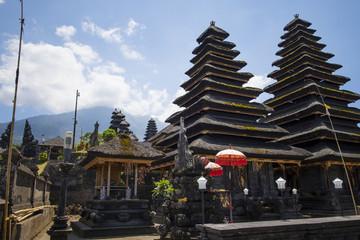 Besakih complex Pura Penataran Agung , hindu temple of Bali, Indonesia.