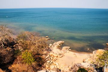 Bay at Lake Malawi.