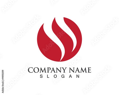 quotflash fire logoquot stock image and royaltyfree vector