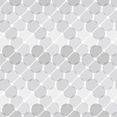 Consecutive circles background. Seamless pattern.Vector. くっついた円形パターン