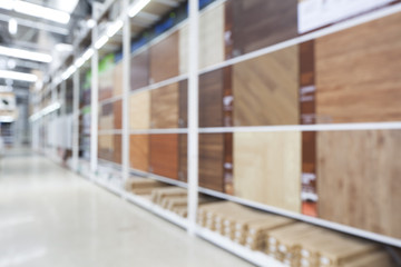 Blurred image of Ceramic Tile Store