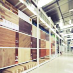 Blurred image of Ceramic Tile Store