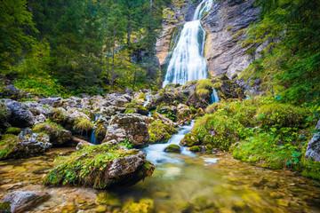 Wasserfall im Allgäu / Waterfall in the Allgäu