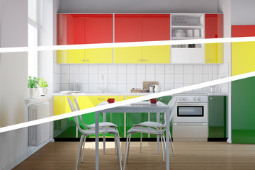 Farbauswahl für neue Küche
