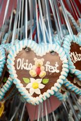 Gingerbread from Oktoberfest
