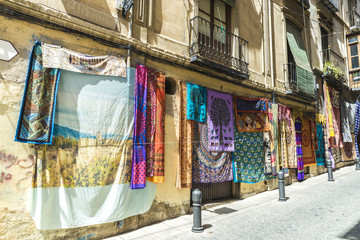 Carpet shop, Spain