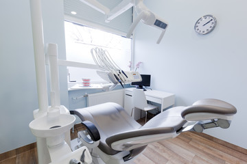 Dentist's office. Dental equipment, modern, clean interior