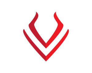 V wing Logo