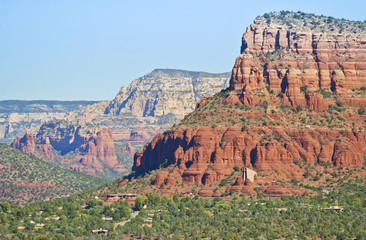 A View of the Chapel of the Holy Cross, Sedona, Arizona