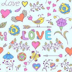 pattern for Valentine's day