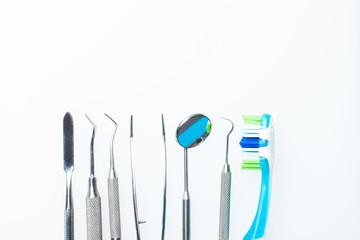 Wall Mural - dental instruments