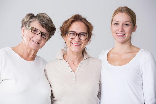 Female multi generation portrait