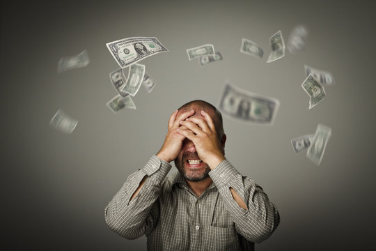 Frustrated. Falling dollars.