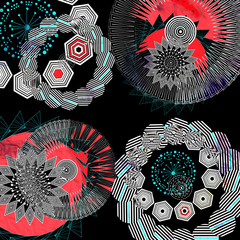 abstract Graphic   elements