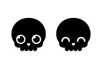 Cute Cartoon Skull