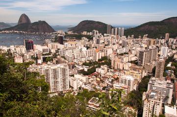 Wall Mural - Rio de Janeiro, Botafogo, and the Sugarloaf Mountain