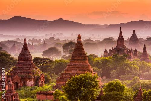 Fototapete Bagan Archeological Zone