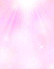 天からの光背景