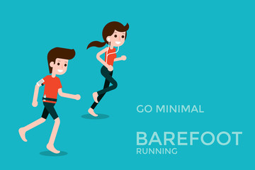 Barefoot running .