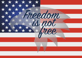 Freedpm is not free. Veterans Day Usa.