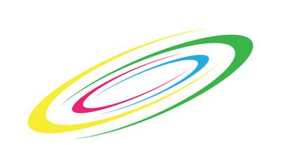 Spiral Galaxy Icon Vector