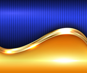 Abstract gold shiny background