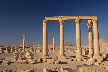 Ruins of ancient Palmyra, Syria
