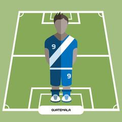 Computer game Guatemala Soccer club player