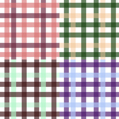 Seamless vector vintage checkered pattern. Can use as wrapping, wallpaper, fabric print, cook, kids design.