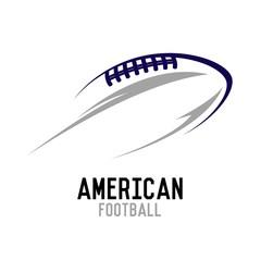 American football Logo vector illustration
