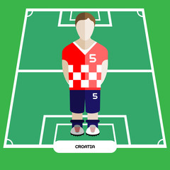 Computer game Croatia Soccer Football club player