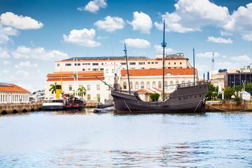 Navy Cultural building in Centre of Rio de Janeiro,  Brazil.