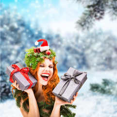 Happy Winter Woman christmas gifts