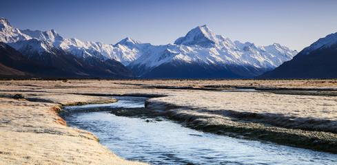 Tasman Valley and Mt Cook