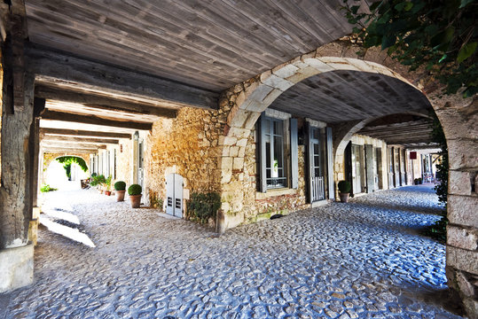 Bastide Gallery architectural details in Labastide d Armagnac