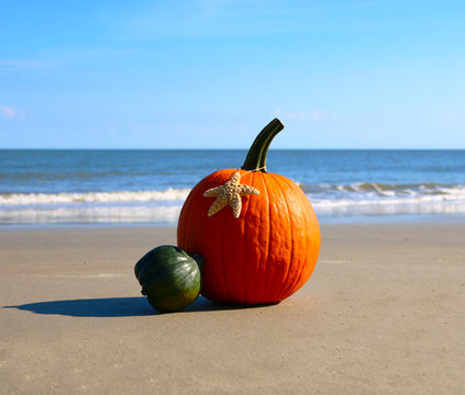 Halloween on the Beach