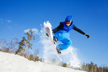 Extreme winter sport