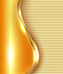 Elegant business golden background