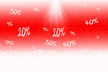 Kundenrabatt Weihnachten