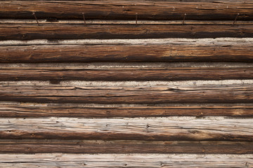 Old log house cabin wood texture